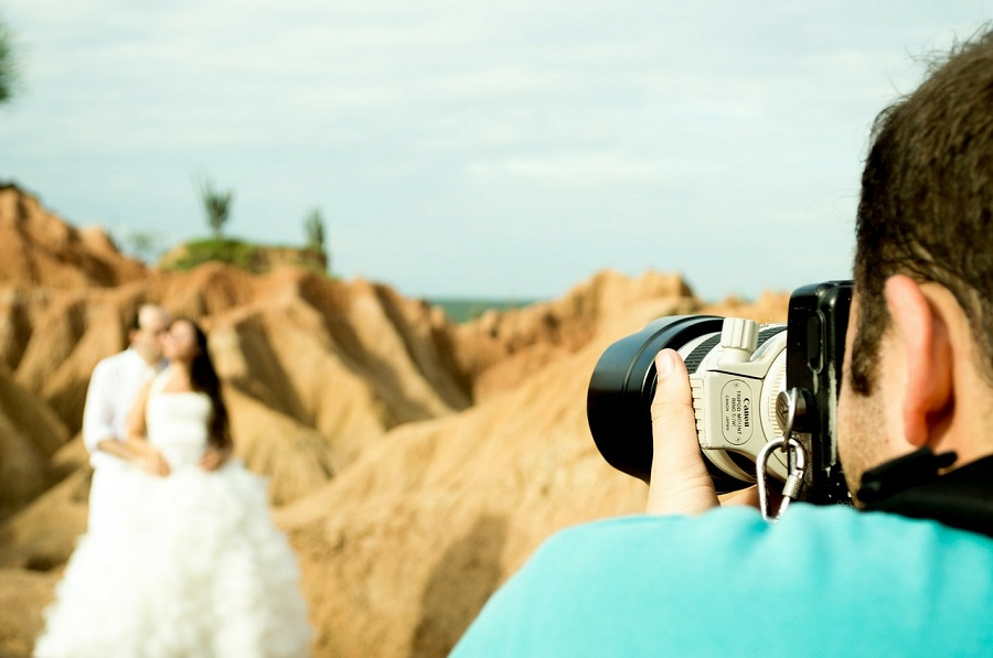 wedding photography shoot